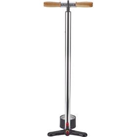 Lezyne Alloy Floor Drive Tall Standing Air Pump silver